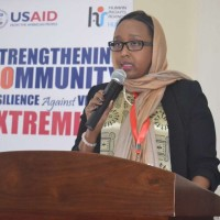 Somali envoy Mariam Yassin at Matuga School of Government during the Kwale CVE colloquium 2016.jpg
